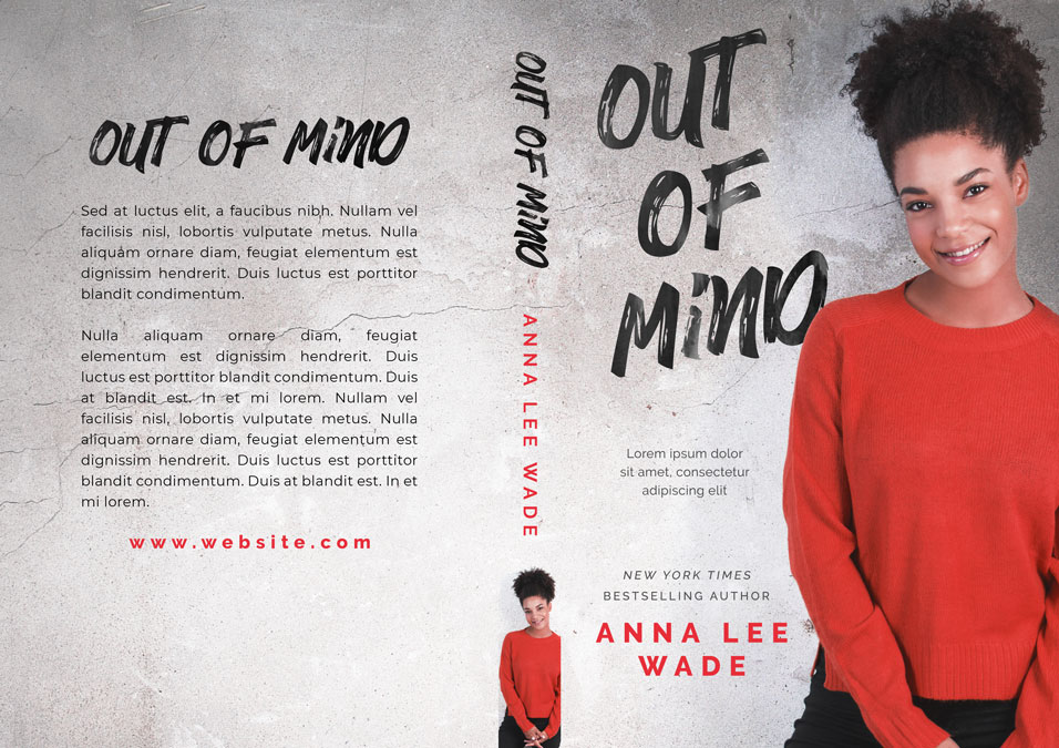 Out of Mind - African-American Fiction Premade Book Cover For Sale @ Beetiful Book Covers