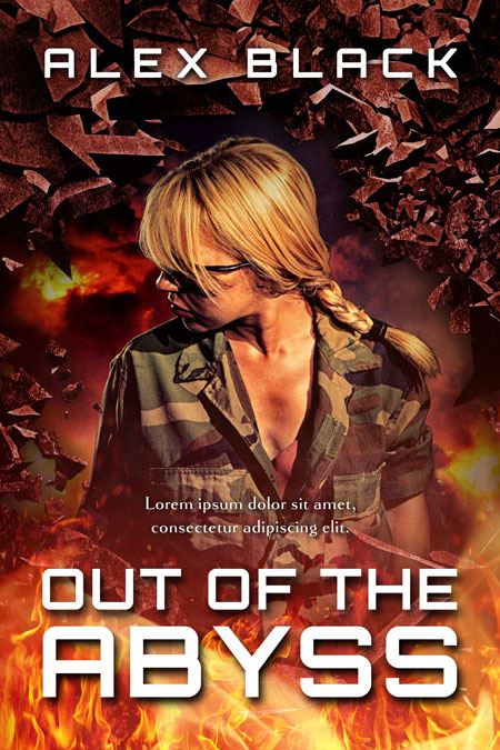Out of the Abyss - Action / Military Book Cover For Sale @ Beetiful Book Covers