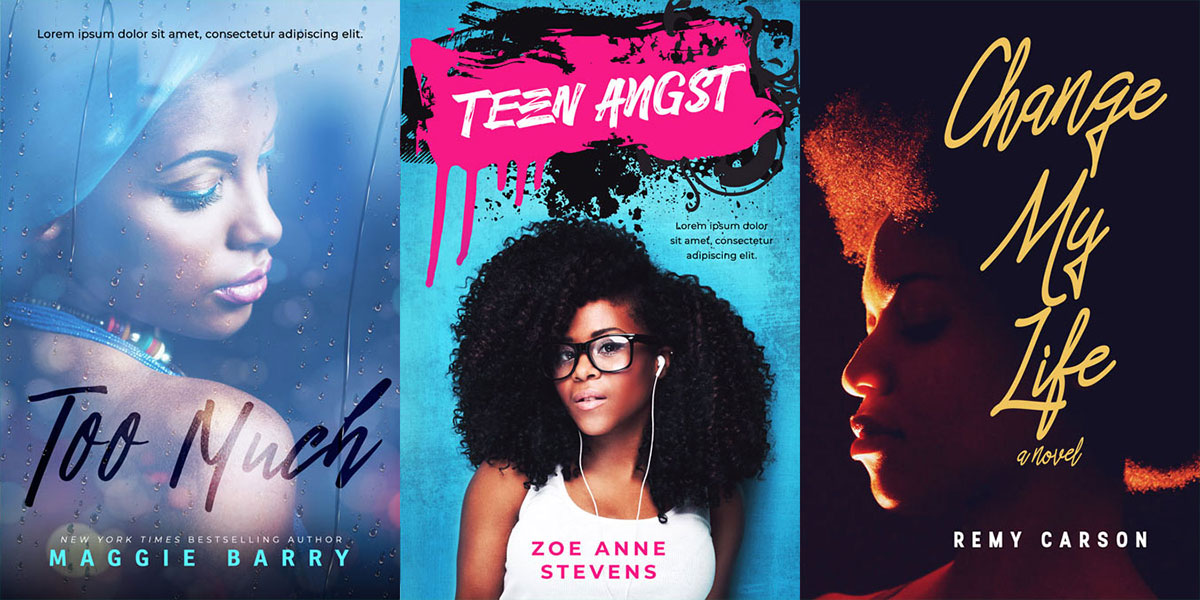 16 New African-American Premade Book Covers