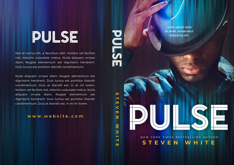 Pulse - African-American fiction Premade Book Cover For Sale @ Beetiful Book Covers