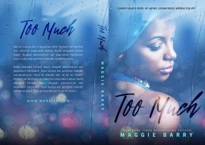 Too Much - African-American Fiction Premade Book Cover For Sale @ Beetiful Book Covers