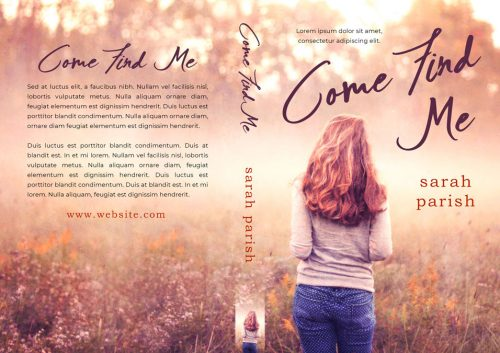Come Find Me - Young Adult Fiction Premade / Predesigned Book Cover For Sale @ Beetiful Book Covers