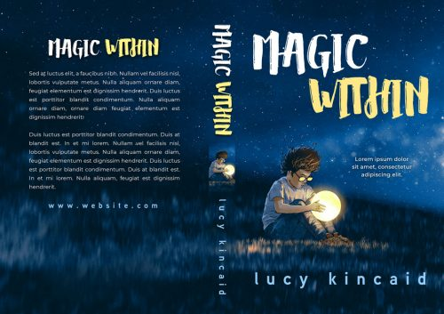 Magic Within - Children's / Juvenile Fiction Premade / Predesigned Book Cover For Sale @ Beetiful Book Covers