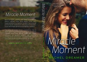 Miracle Moment - Contemporary Raomance Premade Book Cover For Sale @ Beetiful Book Covers