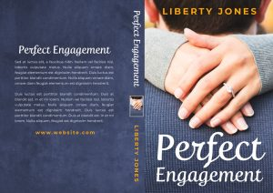 Perfect Engagement - Contemporary Raomance Premade Book Cover For Sale @ Beetiful Book Covers