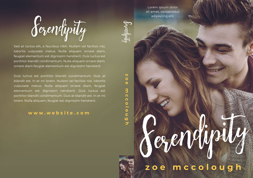 Serendipity - Contemporary Raomance Premade Book Cover For Sale @ Beetiful Book Covers