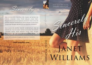 Sincerely His - Women's Fiction / Romance Premade Book Cover For Sale @ Beetiful Book Covers