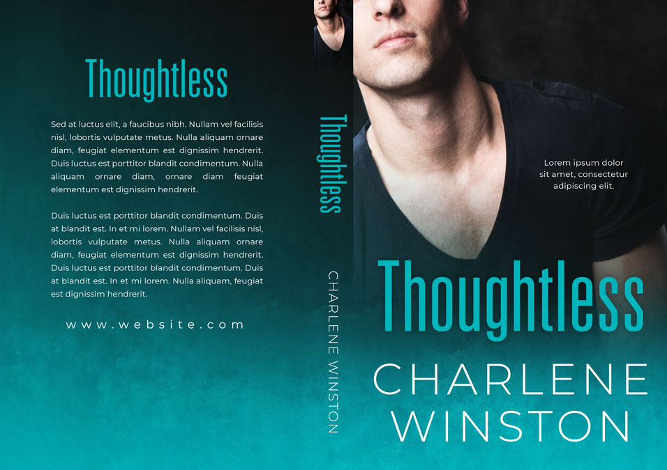 Thoughtless - Steamy Romance Premade Book Cover For Sale @ Beetiful Book Covers