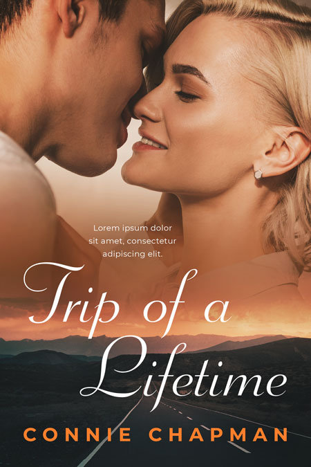 Trip of a Lifetime - Romance Premade Book Cover For Sale @ Beetiful Book Covers