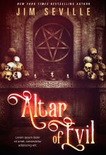 Altar of Evil – Fantasy / Horror Premade Book Cover For Sale @ Beetiful Book Covers