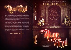 Altar of Evil - Fantasy / Horror Premade Book Cover For Sale @ Beetiful Book Covers