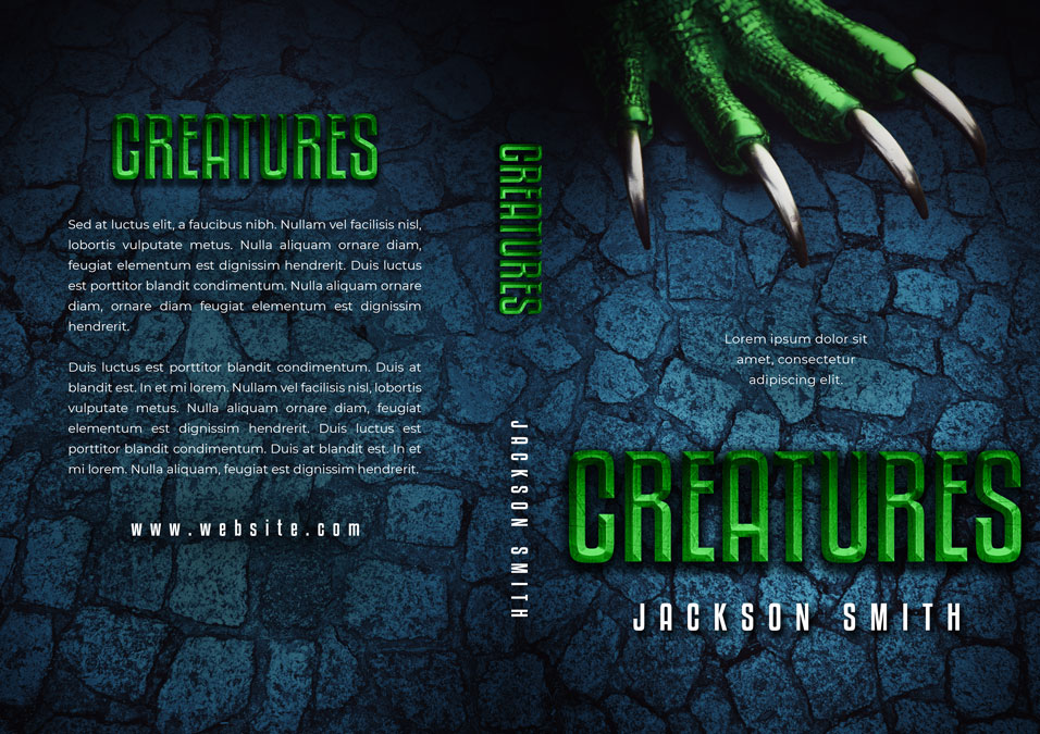 Creatures - Fantasy / Horror Premade Book Cover For Sale @ Beetiful Book Covers