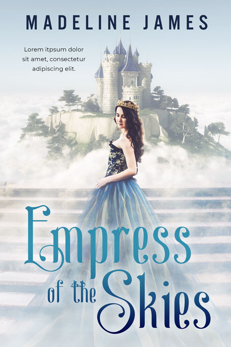 Empress of the Skies - Fantasy Premade Book Cover For Sale @ Beetiful Book Covers