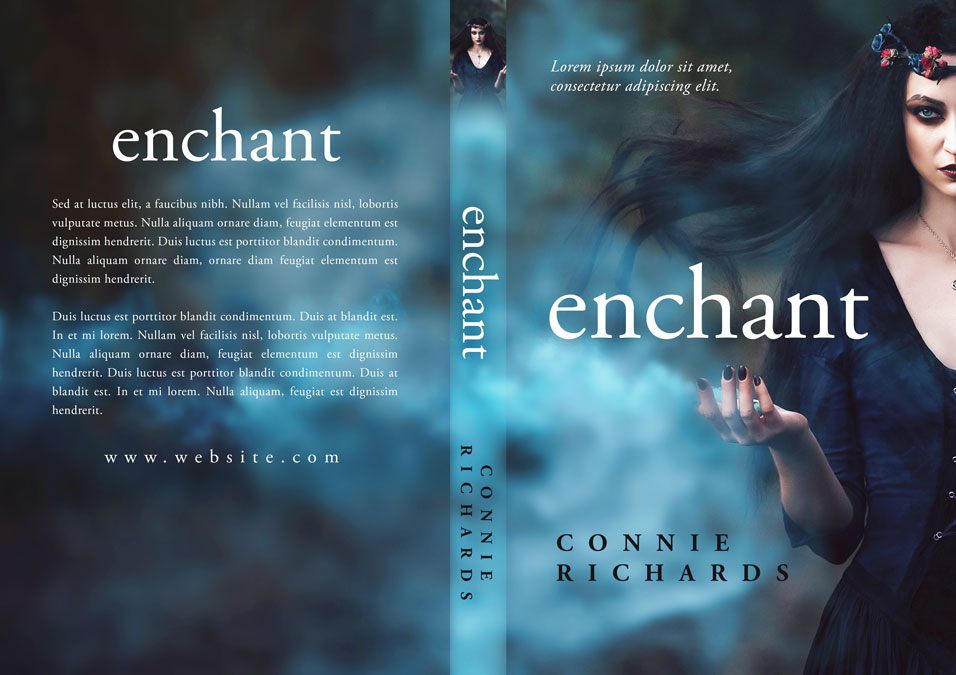 Enchant - Fantasy Premade Book Cover For Sale @ Beetiful Book Covers