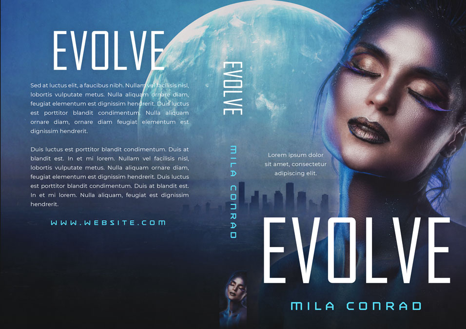 Evolve - Science Fiction Premade Book Cover For Sale @ Beetiful Book Covers