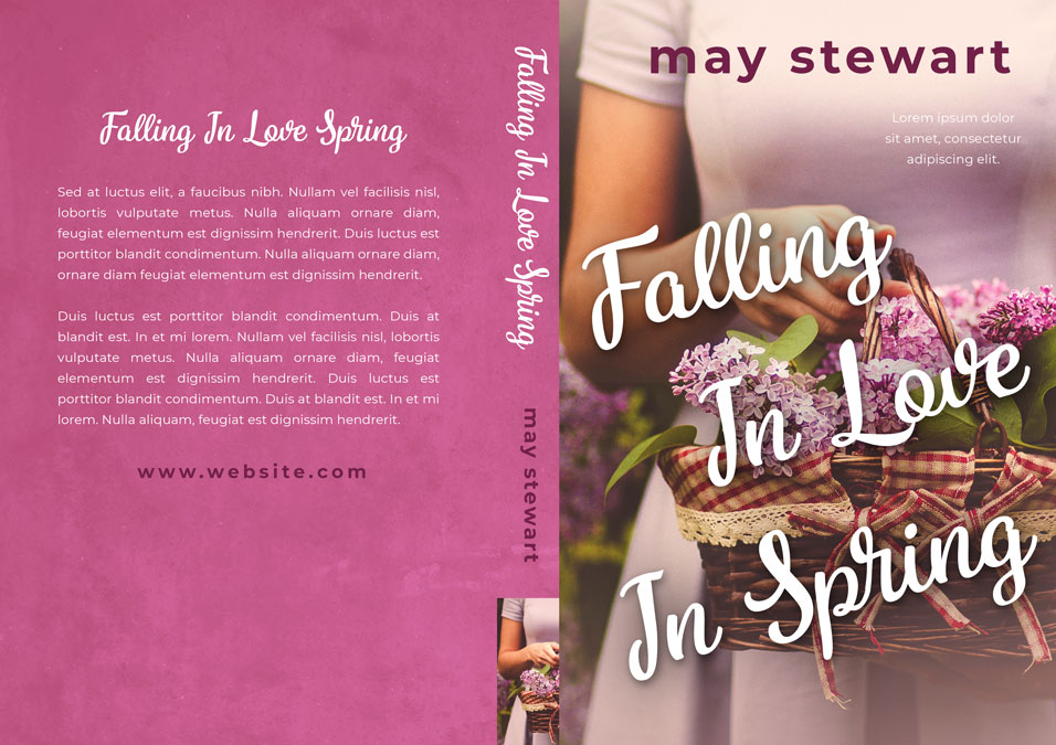 Falling In Love in Spring - Romance / Women's Fiction Premade Book Cover For Sale @ Beetiful Book Covers