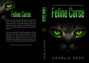 Feline Curse - Horror Premade Book Cover For Sale @ Beetiful Book Covers