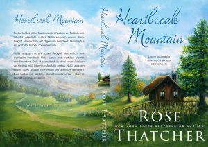 Heartbreak Mountain - Women's Fiction Fiction Premade Book Cover For Sale @ Beetiful Book Covers