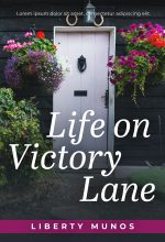 Life on Victory Lane – Women's Fiction Premade Book Cover For Sale @ Beetiful Book Covers