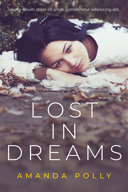 Lost In Dreams - Women's Fiction Premade Book Cover For Sale @ Beetiful Book Covers