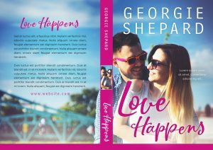 Love Happens - Contemporary Romance Premade Book Cover For Sale @ Beetiful Book Covers