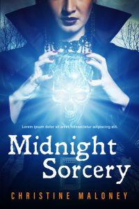Midnight Sorcery - Fantasy Premade Book Cover For Sale @ Beetiful Book Covers
