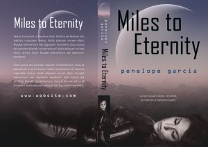 Miles to Eternity - Science Fiction Premade Book Cover For Sale @ Beetiful Book Covers