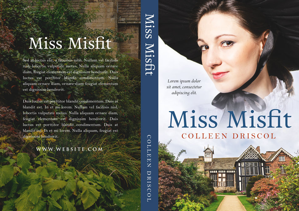 Miss Misfit - Historical Romance Premade Book Cover For Sale @ Beetiful Book Covers