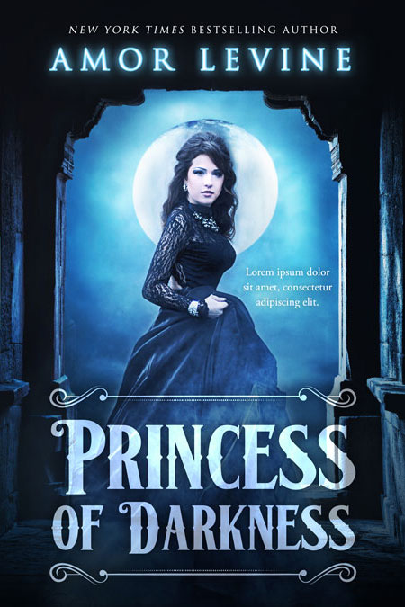 Princess of Darkness - Fantasy Premade Book Cover For Sale @ Beetiful Book Covers