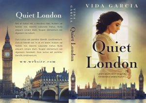 Quiet London - Historical Fiction Premade Book Cover For Sale @ Beetiful Book Covers