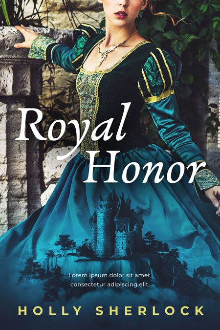 Royal Honor - Fantasy / Historical Romance Premade Book Cover For Sale @ Beetiful Book Covers