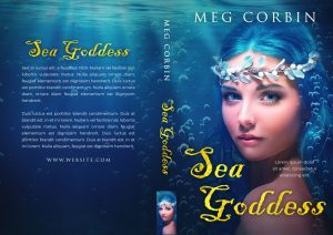 Sea Goddess - Fantasy Premade Book Cover For Sale @ Beetiful Book Covers