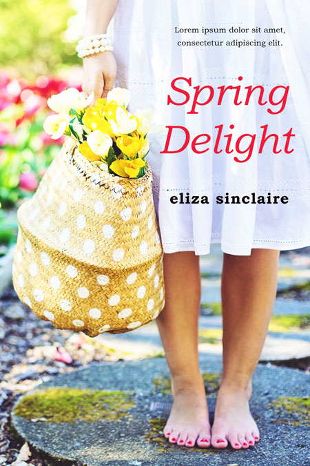 Spring Delight - Women's Fiction Premade Book Cover For Sale @ Beetiful Book Covers