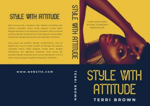 Style With Attitude - African-American Premade Book Cover For Sale @ Beetiful Book Covers