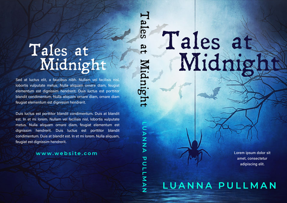 Tales at Midnight - Horror Premade Book Cover For Sale @ Beetiful Book Covers