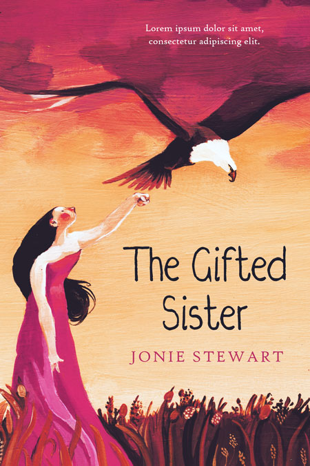 The Gifted Sister - Middle-Grade Premade Book Cover For Sale @ Beetiful Book Covers