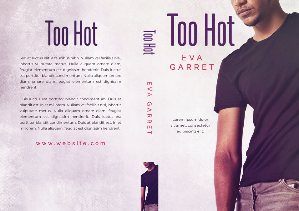 Too Hot - African-American Romance Premade Book Cover For Sale @ Beetiful Book Covers