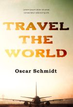 Travel the World – Fiction Premade Book Cover For Sale @ Beetiful Book Covers