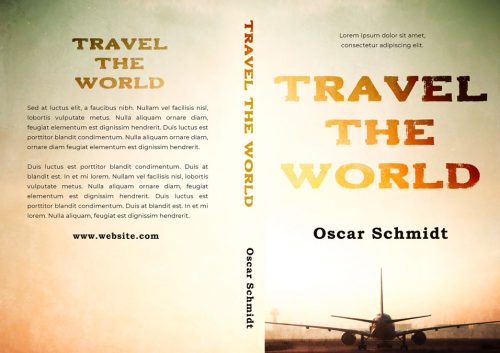 Travel the World - Fiction Premade Book Cover For Sale @ Beetiful Book Covers