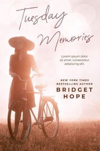 Tuesday Memories - Women's Fiction Premade Book Cover For Sale @ Beetiful Book Covers