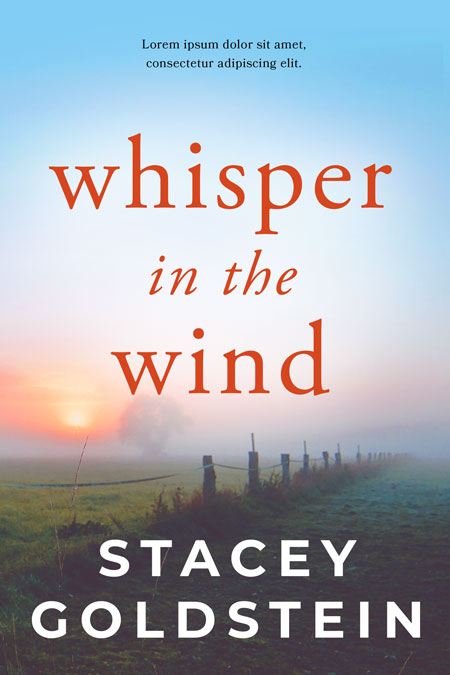Whisper in the Wind - Fiction Premade Book Cover For Sale @ Beetiful Book Covers