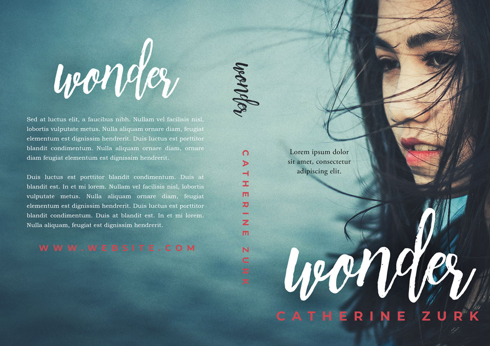 Wonder - Asian-American Fiction Premade Book Cover For Sale @ Beetiful Book Covers