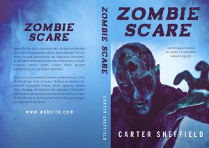 Zombie Scare - Horror Premade Book Cover For Sale @ Beetiful Book Covers