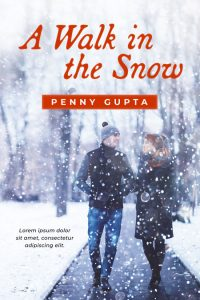 A Walk in the Snow - Christmas Romance Premade Book Cover For Sale @ Beetiful Book Covers