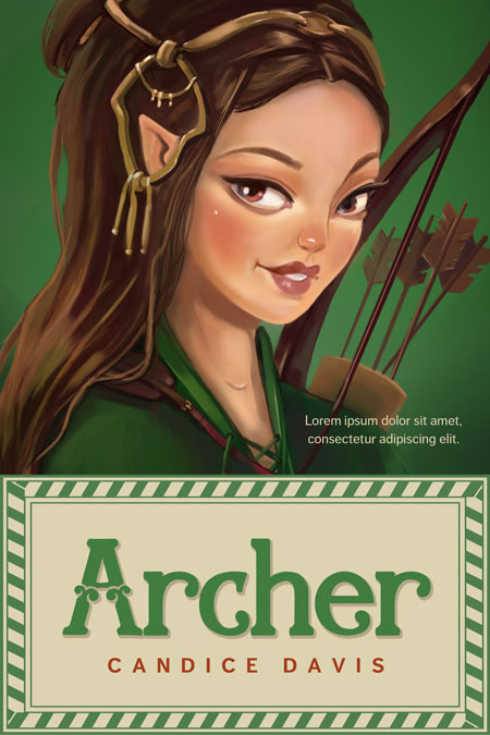 Archers - Middle-grade Premade Book Cover For Sale @ Beetiful Book Covers