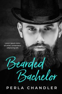 Bearded Bachelor - Romance Premade Book Cover For Sale @ Beetiful Book Covers