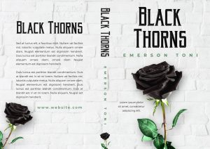 Black Thorns - Fantasy Premade Book Cover For Sale @ Beetiful Book Covers