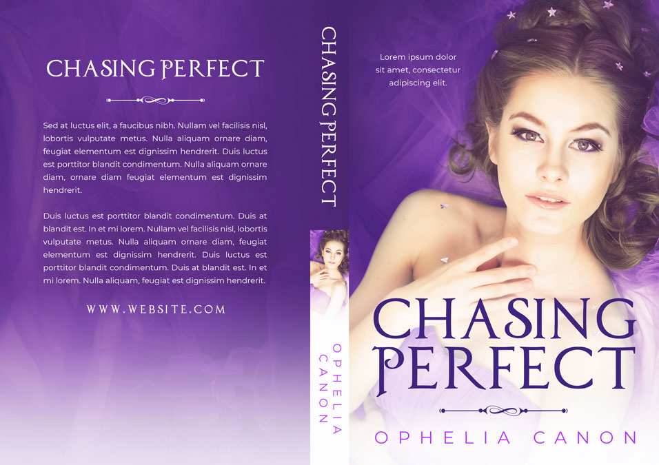 Chasing Perfect - Young Adult Romance Premade Book Cover For Sale @ Beetiful Book Covers