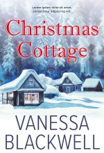 Christmas Cottage – Christmas Fiction Premade Book Cover For Sale @ Beetiful Book Covers