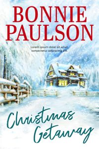 Christmas Getaway - Christmas Fiction Premade Book Cover For Sale @ Beetiful Book Covers